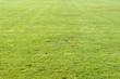 Rasen nachdem Fussballspiel