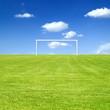 Schönes Wetter für Fussball