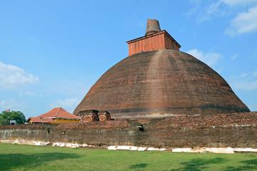 Ruwanweli Seya Dagoba in Anuradhapura,Sri Lanka