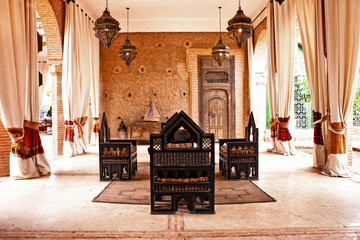 traditional Arabic place for  relax