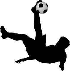Fußball, Fallrückzieher