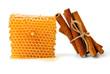 Honeycomb and cinnamon