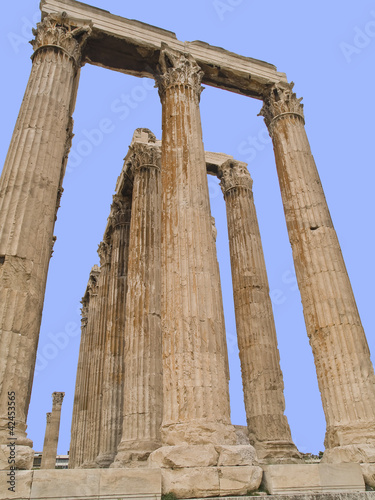 Temple  Zeus located in,Athens, Greece
