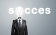 lamp-head,  concept success