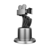 Trophy film award conceptual design isolated on white