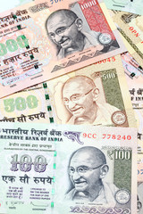 Indian Rupee bank notes