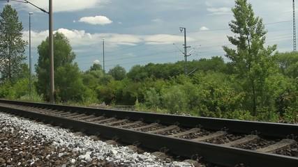 Footage - Schienen - Gleis