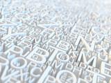 Fototapety Letters
