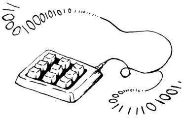 Keypad Signal Ink