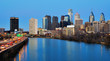 Downtown Philadelphia from the Schuylkill River