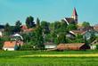 village de Zimmersheim, alsace , haut-rhin