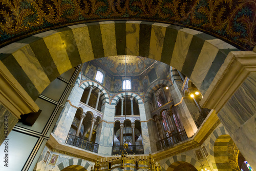 interior of Aachen Cathedral