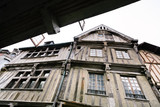 timber framing house in Dinan, France
