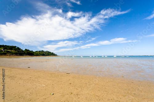 sand beach of La Manche