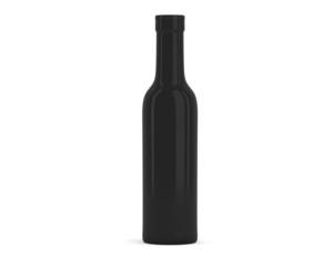 Halbflasche Wein schwarz