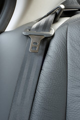 Safety belt in a car