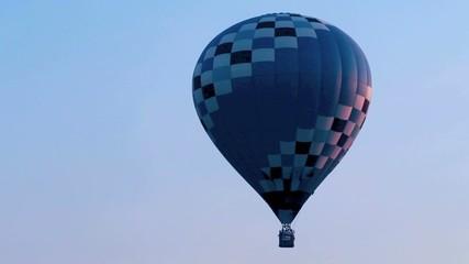 morning balloon launch