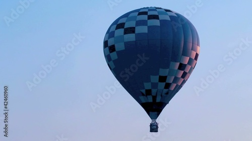 morning balloon launch
