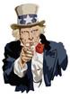 Oncle Sam, symbole, États-Unis, portrait - 42461715