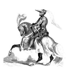 Horseman - begining 16th century