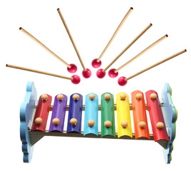 Xylophone with  Mallets