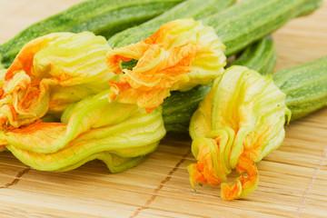 fiori di zucca, zucchine