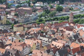 Dächer von Wertheim