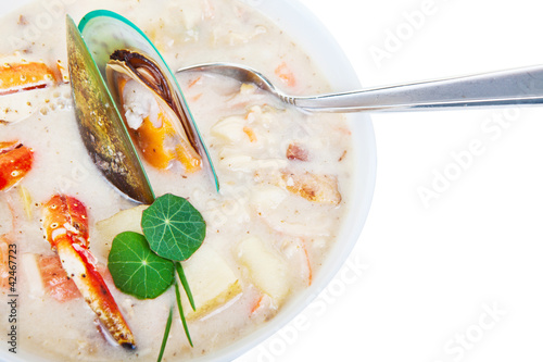 Sea food chowder