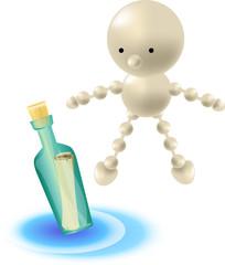 Boris e il messaggio in bottiglia