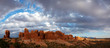 Scenic view at Arches National Park, Utah, USA