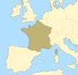 Detaily fotografie Map of France