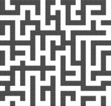 Infinite maze seamless background pattern. Vector. poster