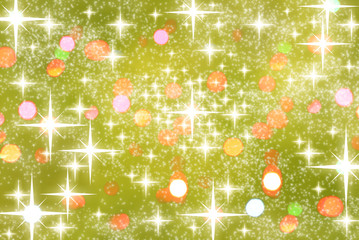stars confetti abstract party christmas background