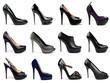 Dark female shoes-5
