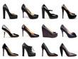 Dark female shoes-6