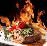 Fototapety Grilled Beef Steak