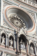 Rose window of the Florence Cathedral