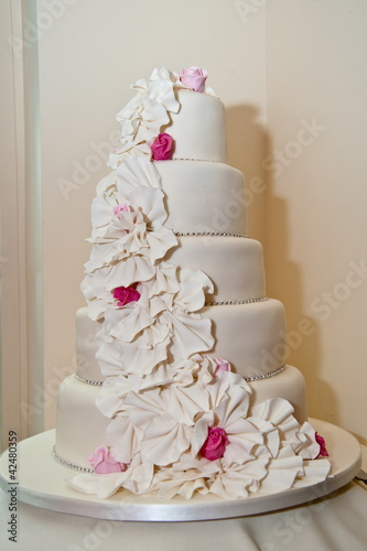 canvas print picture Wedding Cake