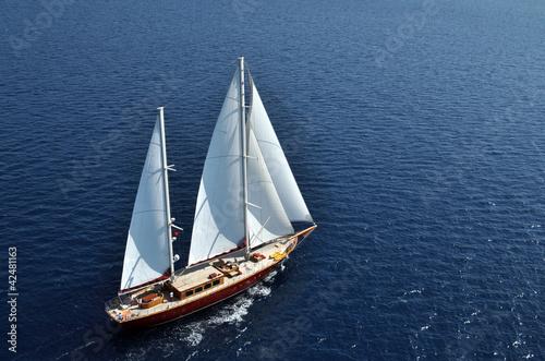 Leinwandbild Motiv sailboat