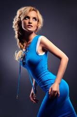 beautiful sexy blonde