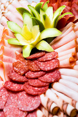 Meat platter with selection 4