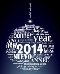 2014, boule de voeux