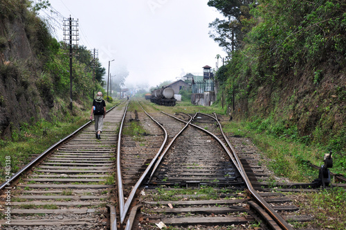 auf unbefahrenen Gleisen