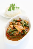 Thai Spicy Green Bean and Chicken