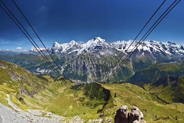 Eiger, Mönch & Jungfrau vom Schilthorn