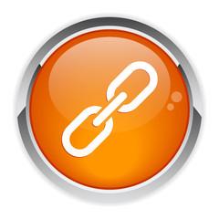 bouton internet chaine lien.