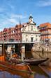 Alter Hafen in Lüneburg, Deutschland