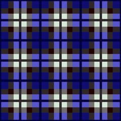 seamless fabric swatch of classic tartan