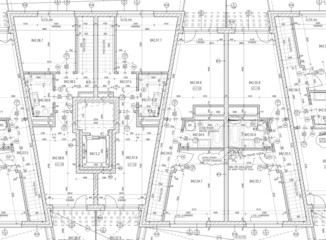 CAD Architectural Plan