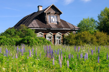 Old Russian Village House